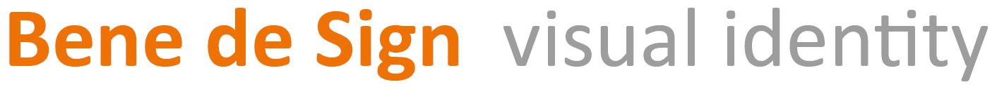 Bene de Sign – visual identity – Benedikta von Schorlemer – Kronberg Logo
